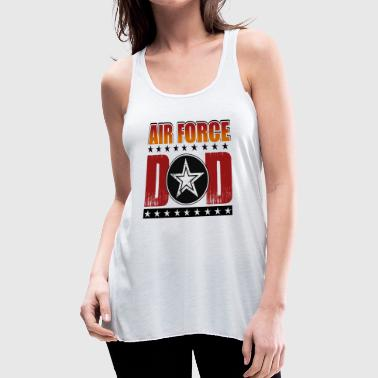 AIR FORCE DAD SHIRT - Women's Flowy Tank Top by Bella