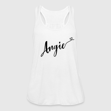angie - Women's Flowy Tank Top by Bella