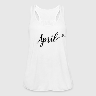 april - Women's Flowy Tank Top by Bella