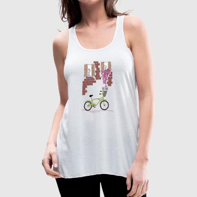 bicycle - Women's Flowy Tank Top by Bella