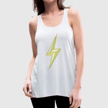 lightning - Women's Flowy Tank Top by Bella