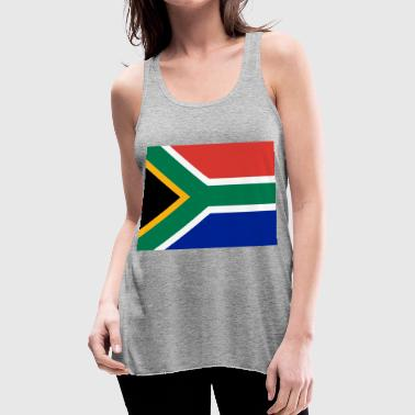 south africa - Women's Flowy Tank Top by Bella