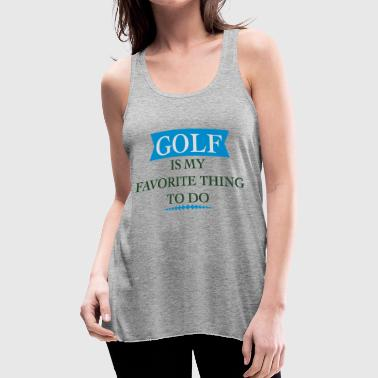 Golfer golfer - Women's Flowy Tank Top by Bella