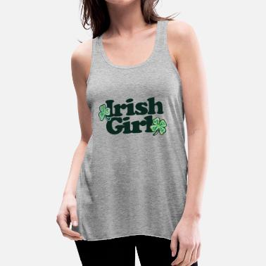 Irish Girls Irish Girl - Women's Flowy Tank Top by Bella