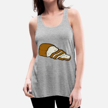 Bread bread - Women's Flowy Tank Top