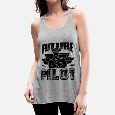 Future Future Pilot Shirt - Women's Flowy Tank Top by Bella