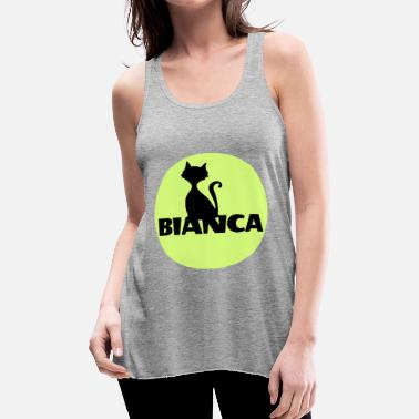 First Name Bianca name first name - Women's Flowy Tank Top by Bella