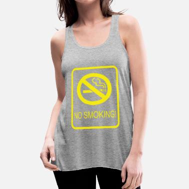 Smoking No Smoking - Women's Flowy Tank Top