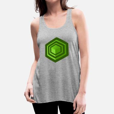 Cube Cube - Women's Flowy Tank Top by Bella