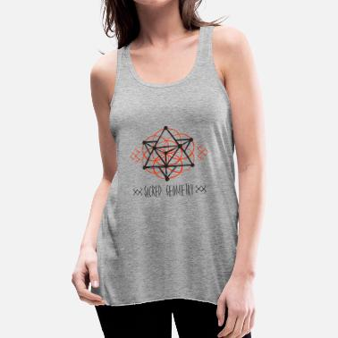 Sacred Geometry - Women's Flowy Tank Top
