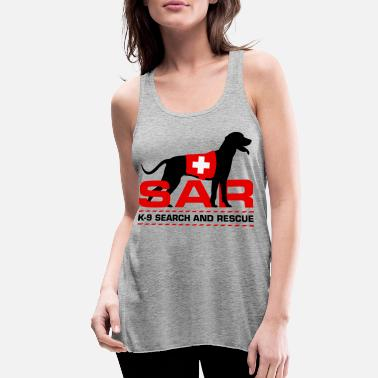 Search K-9 Search and Rescue - Women's Flowy Tank Top