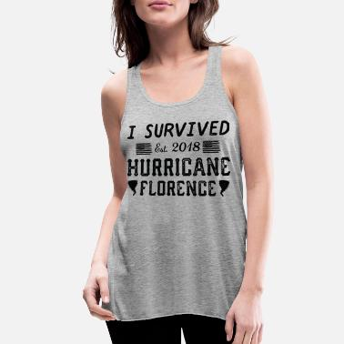 I Survived Hurricane Florence - Women's Flowy Tank Top