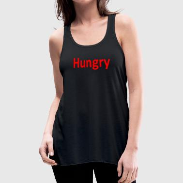 Hungry Hungry - Women's Flowy Tank Top by Bella