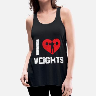 Weightlifting Weightlifting - Women's Flowy Tank Top by Bella