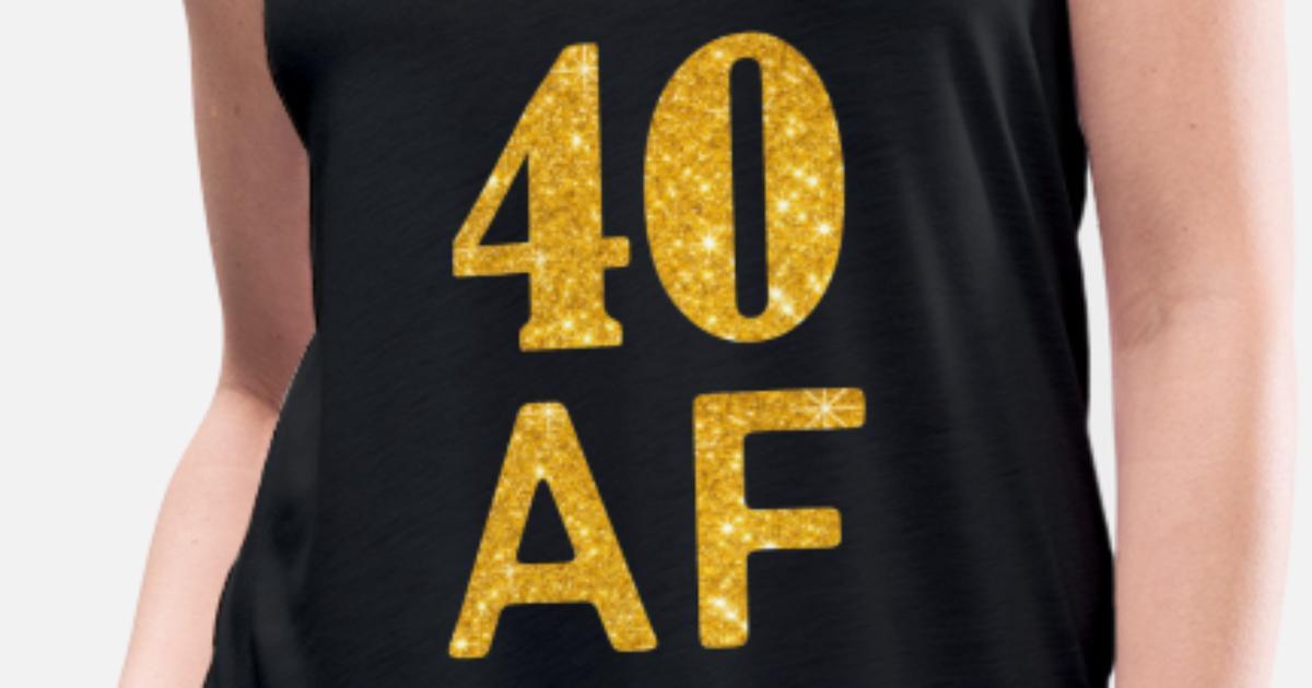 Womens Flowy Tank Top40 AF Shirt