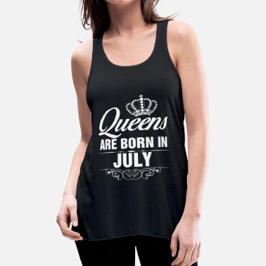 Born In queens are born - Women's Flowy Tank Top