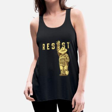 Resist Smokey say RESIST - Women's Flowy Tank Top by Bella