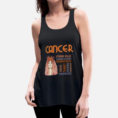 Zodiac Zodiac Cancer T-Shirts - Women's Flowy Tank Top by Bella