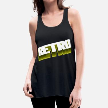 Retro - Women's Flowy Tank Top by Bella