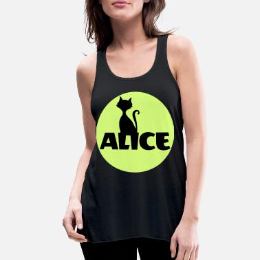 Name Day Alice First name Name Personal gift Name day - Women's Flowy Tank Top