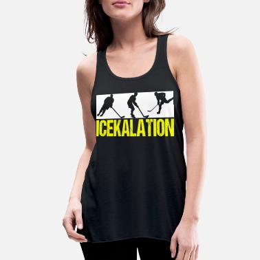 Hockey Ice hockey, ice hockey - Women's Flowy Tank Top