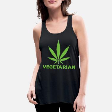 Hashish Vegetarian Hashish - Women's Flowy Tank Top