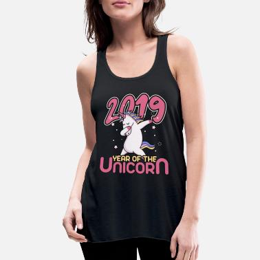 Tik 2019 Year Of The Unicorn - Women's Flowy Tank Top