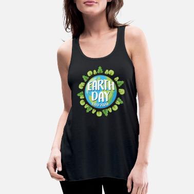 Earth Day Anniversary EARTH DAY 50 Year Anniversary - Women's Flowy Tank Top