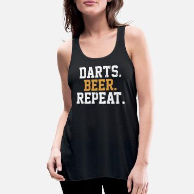 Bar-pub Dart Beer Bar Pub Vintage Arrow - Women's Flowy Tank Top