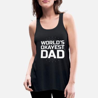 father man daddy son daughter parents child - Women's Flowy Tank Top