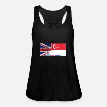 Half Turkey Flag Half USA Flag Love Heart Womens Basic Tank Tops Sleeveless Graphic Print Shirt Tee