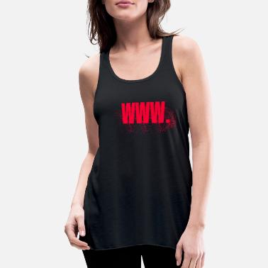 Www WWW. - Women's Flowy Tank Top