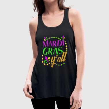 Mardi Gras Yall - Women's Flowy Tank Top by Bella