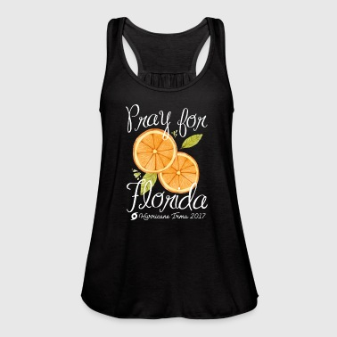 Pray For Florida - Women's Flowy Tank Top by Bella