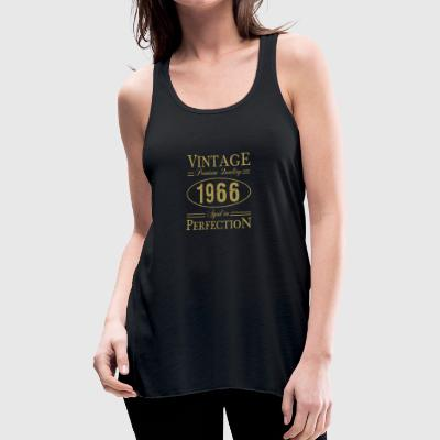 Vintage Premium Quality 1966 Aged To Perfection - Women's Flowy Tank Top by Bella