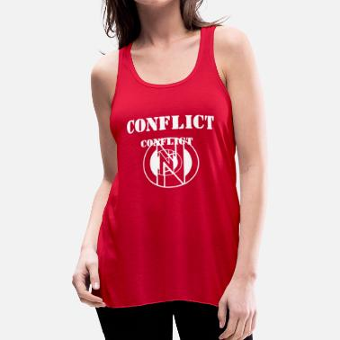 Conflict Conflict - Women's Flowy Tank Top by Bella