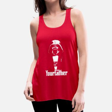 Your Father Star Wars - Women's Flowy Tank Top by Bella