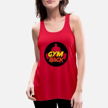Future gym back - Women's Flowy Tank Top