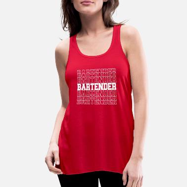 Bar Pub Bartender Club Bar Pub T-Shirt - Women's Flowy Tank Top