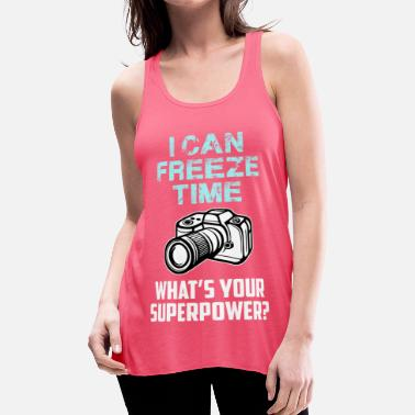 I Can Freeze Time - Women's Flowy Tank Top by Bella