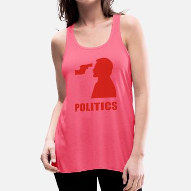 Politics POLITICS - Women's Flowy Tank Top by Bella