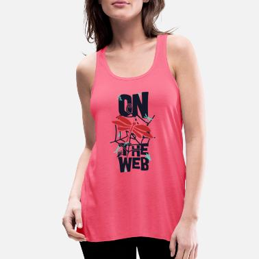 Web On the web - Women's Flowy Tank Top
