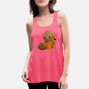 Trick TRICK R TREAT FUNNY CUTE SAM HALLOWEEN - Women's Flowy Tank Top
