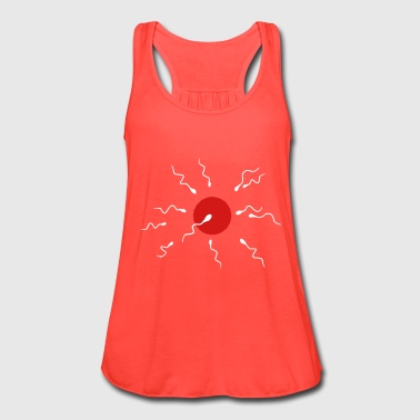 ovum and sperm cells - Women's Flowy Tank Top by Bella