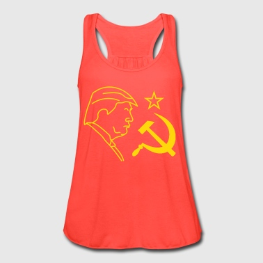 Trump Russia Hammer and Sickle - Women's Flowy Tank Top by Bella