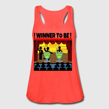 TV Game Show Contestant - TPIR (The Price Is...) - Women's Flowy Tank Top by Bella