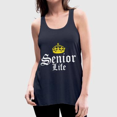 Senior Life - Women's Flowy Tank Top by Bella