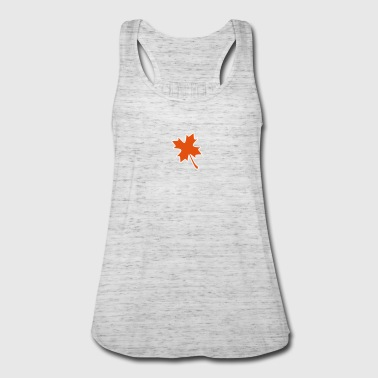 Canada lucky maple leaf - Women's Flowy Tank Top by Bella
