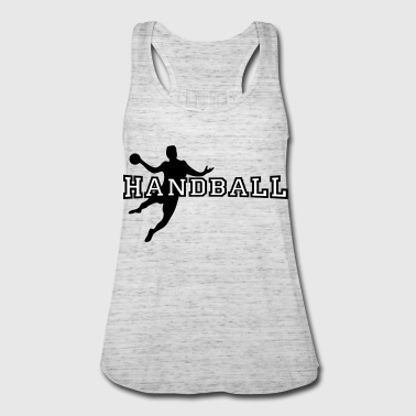 handball - Women's Flowy Tank Top by Bella