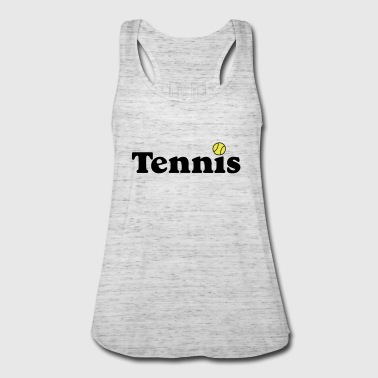 tennis - Women's Flowy Tank Top by Bella